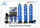 SS 500 LPH RO WITH SOFTENER