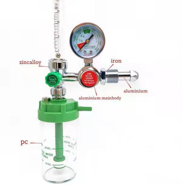 Oxygen Flow meter cum Regulator
